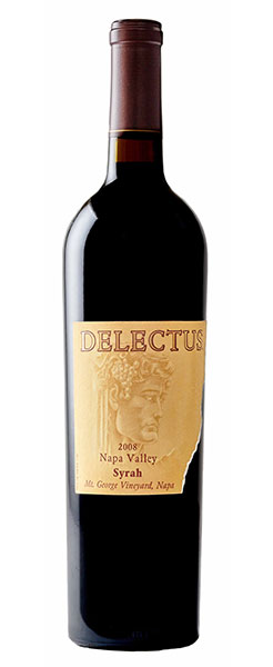 2010 Delectus Syrah, Napa Valley, 750ml