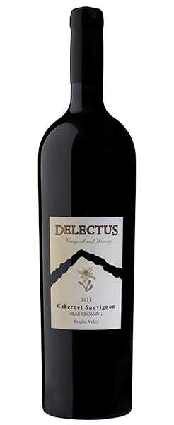2011 Delectus Bear Crossing Cabernet Sauvignon, Knights Valley, 1.5L