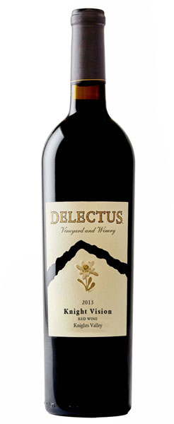 2013 Delectus Knight Vision Red Blend, Knights Valley, 750ml