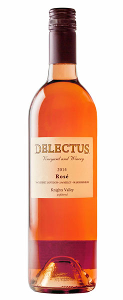 2014 Delectus Rose, Knights Valley, 750ml